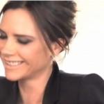 VIDEO: Revolucionarna reklama za novi mobilni: Victoria Beckham se nasmejala!