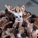 Kylie na snimanju novog spota!