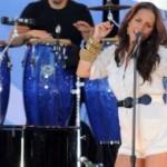 Alicia Keys pokazala trudnički stomačić na nastupu