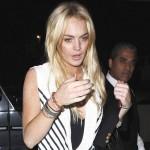 Lindsay ne uživa u pažnji fotografa…