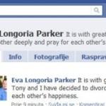 Longoria potvrdila razvod na Facebooku: Oboje ćemo moliti za sreću onog drugog