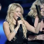Shakira proglašena pevačicom godine
