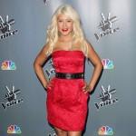 Christina Aguilera u crvenom izdanju