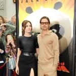 """Elegantna Angelina i """"matorac"""" Brad na premijeri """"Kung Fu Pande 2″"""
