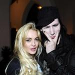Lindsay Lohan druži se s Marilynom Mansonom