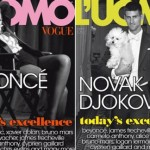 Novak, njegov pas Pepe, ali i Bijonse na naslovnoj strani italijanskog Voga!