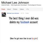 Facebook mu blokirao korisnički račun zbog reklame za Google+