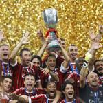 Kakva reklama: fudbaleri Milana istrčali na teren s dugim bradama