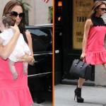 Victoria Beckham u ubistvenim štiklama povela bebu u šoping