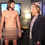 Ashton Kutcher go u showu Ellen Degeneres
