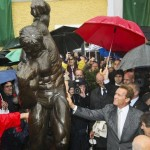 Arnold Schwarzenegger otkrio svoj kip u Austriji
