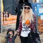 Christina Aguilera provela Noć veštica s sinom i bivšim suprugom