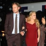 Jessica Simpson u crvenoj haljini ponosno pokazala sve veći stomak