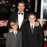 David Beckham šalje sliku svoje dece kao čestitku