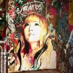 Vole je i u Australiji: Jessica iz SNSD na velikom grafitu u Melburnu