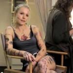 Kristen Bell pokazala čak 214 tetovaža na svom telu
