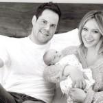 Porodična fotografija: Hilary Duff i Mike Comrie zajedno sa sinčićem