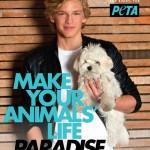 Cody Simpson pozirao za PETAu