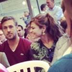 Divan dečko: Ryan Gosling odveo Evu Mendes na promociju diplome svoje mame