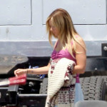 "Povratak na mali ekran: Ashley Tisdale na snimanju serije ""Sons of Anarchy"""