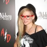 Avril Lavigne na promociji svog modnog brenda