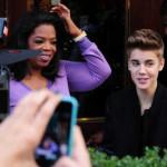 Justin Bieber: Druženje s Oprah