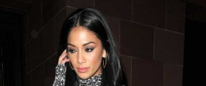 Nicole Scherzinger Dines In London