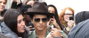 Bruno Mars Drops By The BBC Radio 1