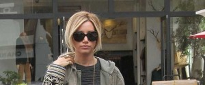Ashley Tisdale Shops With Her Mom In Beverly Hills