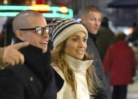 Exclusive... Jennifer & Casper Shopping In Copenhagen