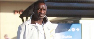 EXCLUSIVE: Akon Arrives Into Perth Domestic Airport (USA ONLY)