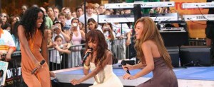 NY: DESTINY'S CHILD PERFORMS ON THE TODAY SHOW