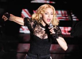 Madonna Performs In Paris **FILE PHOTOS**