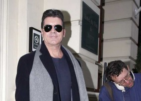 Simon Cowell Heads To BGT Auditions