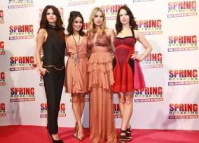 'Spring Breakers' Rome Premiere