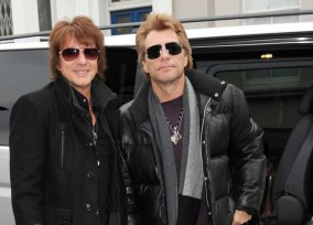Exclusive... Jon Bon Jovi & Richie Sambora Head To A London Studio