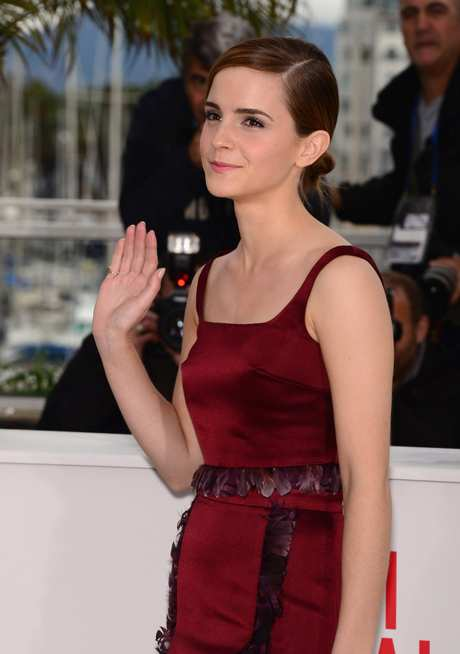 Emma Watson at The Bling Ring Photocall in France006