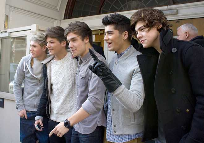 One Direction Leaves BBC Maida Vale