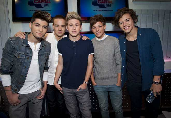 One Direction in US charts
