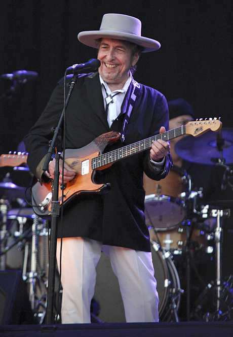 CARHAIX : Bob Dylan performs at Les Vieilles Charrues festival