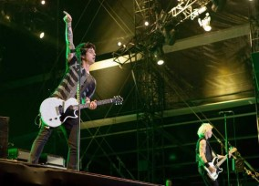 PARIS: Green Day performs live for the Rock-en-Seine 10th anniversary.