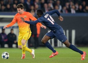 Paris: UEFA Champions League, Paris SG vs FC Barcelona