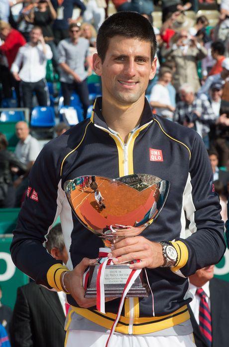 MONACO: Monte Carlo Tennis Masters, Novak Djokovic vs Rafael Nadal, Final.