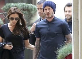 David and Victoria Beckham Shop in Paris