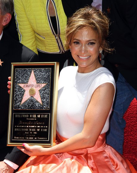 Jennifer Lopez Honored With 2,500th Star on the Hollywood Walk of Fame in Hollywood