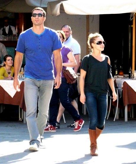 Exclusive... Wladimir Klitschko & Hayden Panettiere On Vacation In Italy