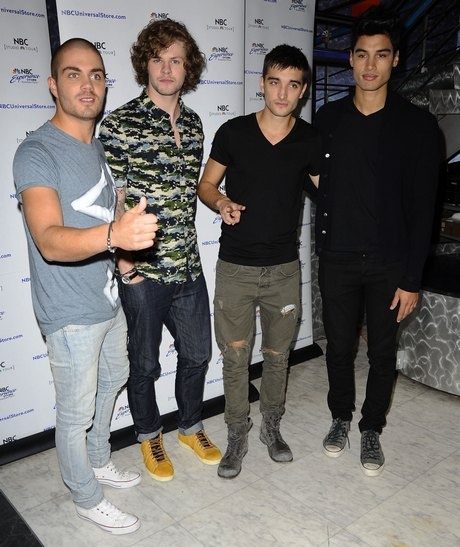 The Wanted Fan Meet And Greet
