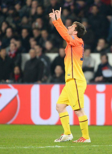 Paris: FC Barcelona's forward Lionel Messi