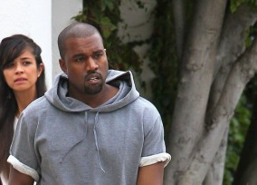 Kanye West Shops For Furniture In Beverly Hills