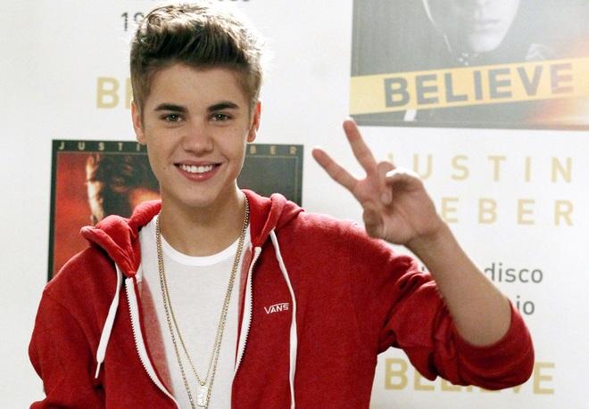 Justin Bieber promoting his new album 'Believe', Madrid, Spain - 04 Jun 2012